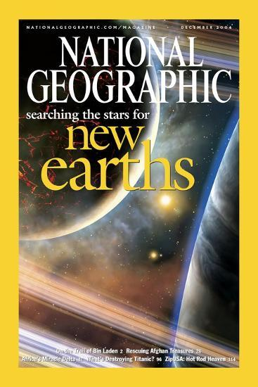 Cover of the December, 2004 National Geographic Magazine-Dana Berry-Photographic Print