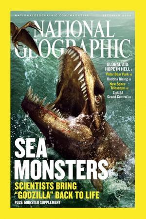 Cover of the December, 2005 National Geographic Magazine