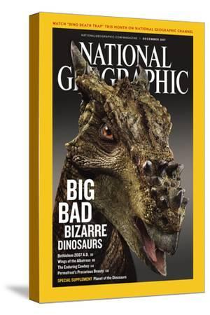 Cover of the December, 2007 National Geographic Magazine