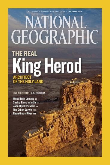Cover of the December, 2008 National Geographic Magazine-Michael Melford-Photographic Print