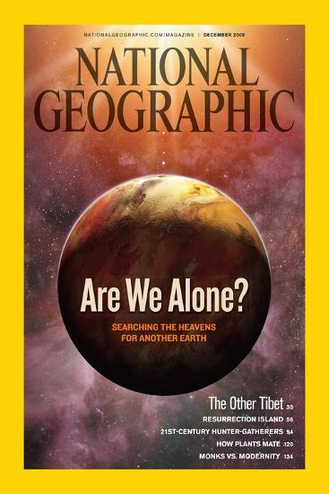 Cover of the December, 2009 National Geographic Magazine-Dana Berry-Photographic Print