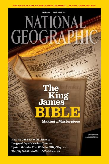 Cover of the December, 2011 National Geographic Magazine-Jim Richardson-Photographic Print
