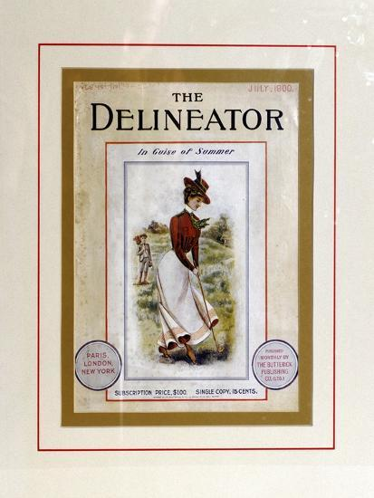 Cover of The Delineator, July 1900-Unknown-Giclee Print