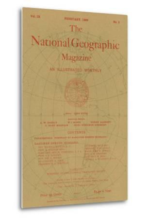 Cover of the February, 1898 National Geographic Magazine