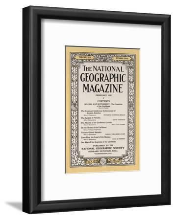 Cover of the February, 1922 National Geographic Magazine