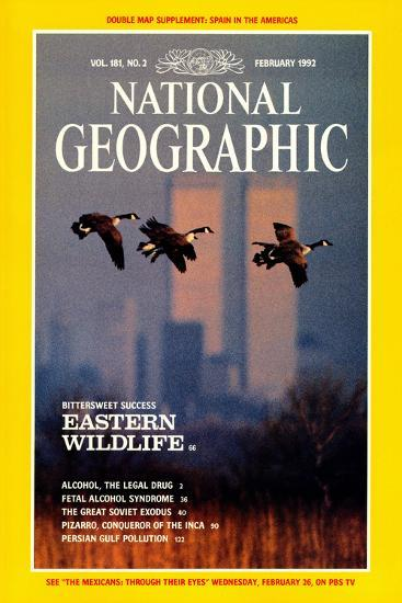 Cover of the February, 1992 National Geographic Magazine-Raymond Gehman-Photographic Print