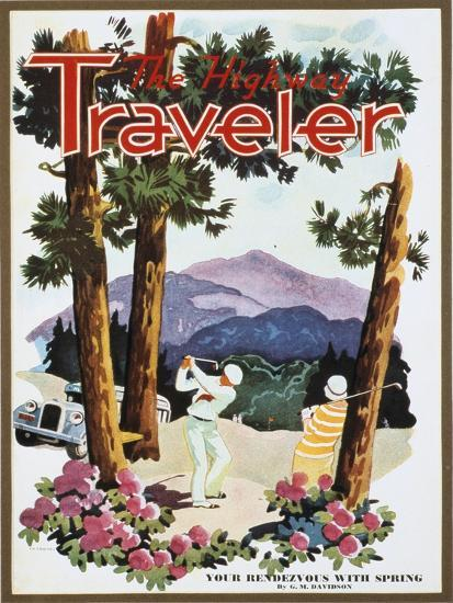 Cover of The Highway Traveler magazine, c1926-Unknown-Giclee Print