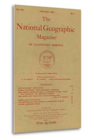 Cover of the January, 1896 National Geographic Magazine