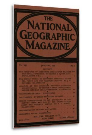 Cover of the January, 1901 National Geographic Magazine