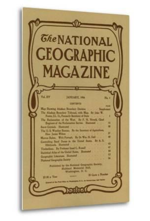 Cover of the January, 1904 National Geographic Magazine