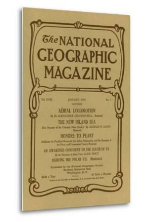 Cover of the January, 1907 National Geographic Magazine