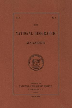 Cover of the July, 1896 National Geographic Magazine