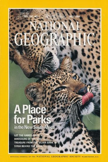 Cover of the July, 1976 National Geographic Magazine-Chris Johns-Photographic Print