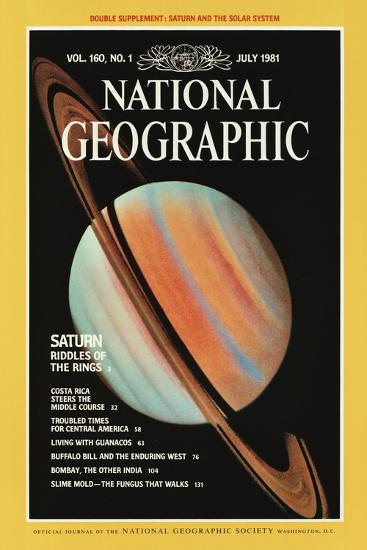 Cover of the July, 1981 National Geographic Magazine--Photographic Print