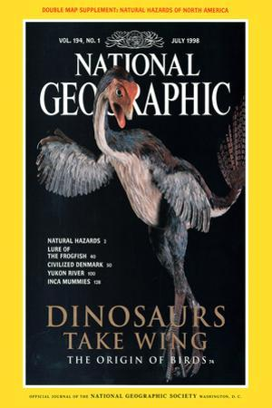 Cover of the July, 1998 National Geographic Magazine