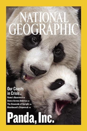 Cover of the July, 2006 National Geographic Magazine-Michael Nichols-Photographic Print