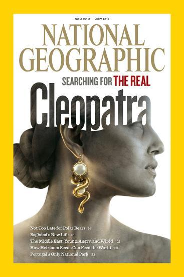 Cover of the July, 2011 National Geographic Magazine-Sam Weber-Photographic Print