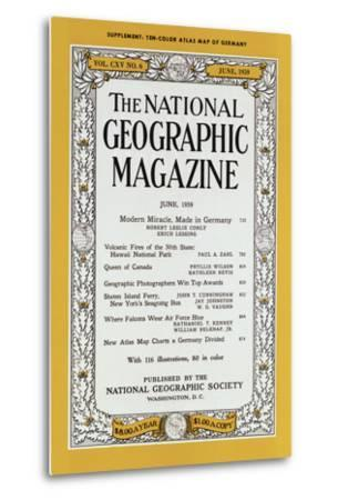 Cover of the June, 1959 National Geographic Magazine