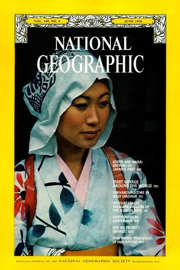 Cover of the June, 1976 National Geographic Magazine-George F^ Mobley-Photographic Print