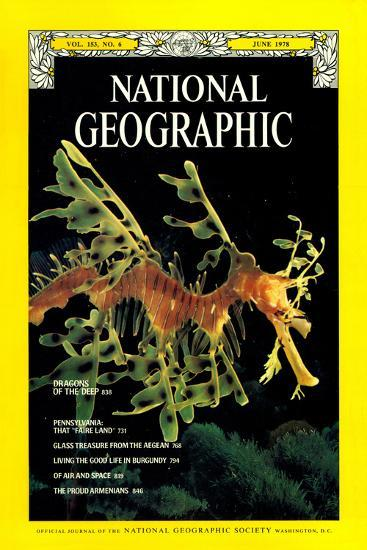 Cover of the June, 1978 National Geographic Magazine-Paul Zahl-Photographic Print