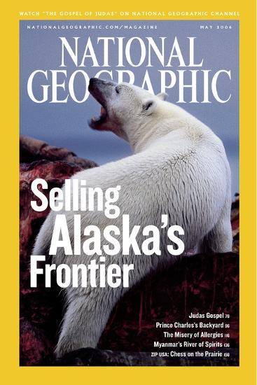 Cover of the May, 2006 National Geographic Magazine-Joel Sartore-Photographic Print