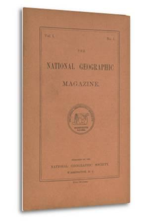 Cover of the October, 1888 National Geographic Magazine