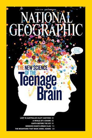 Cover of the October, 2011 National Geographic Magazine