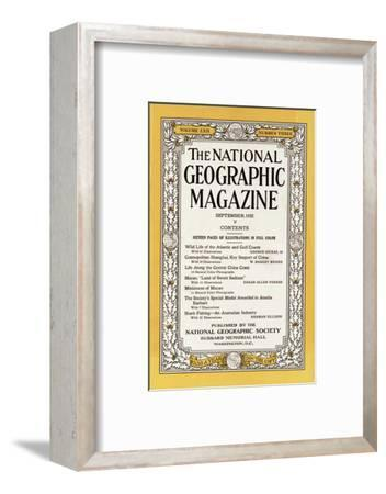 Cover of the September, 1932 National Geographic Magazine