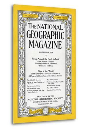 Cover of the September, 1934 National Geographic Magazine