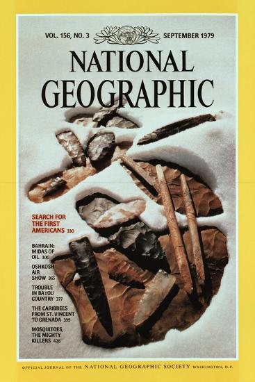 Cover of the September, 1979 National Geographic Magazine-David Arnold-Photographic Print
