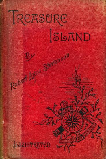 Cover of Treasure Island by Robert Louis Stevenson, 1886--Giclee Print