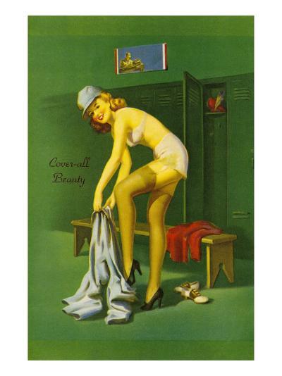 Coverall Beauty--Art Print