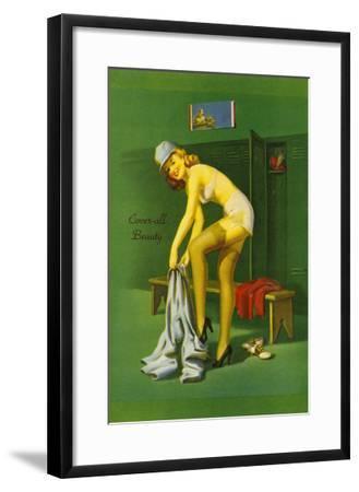 Coverall Beauty--Framed Art Print