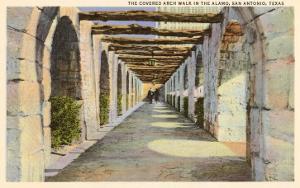 Covered Archway, Alamo, San Antonio, Texas