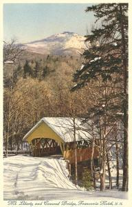 Covered Bridge, Franconia Notch, New Hampshire