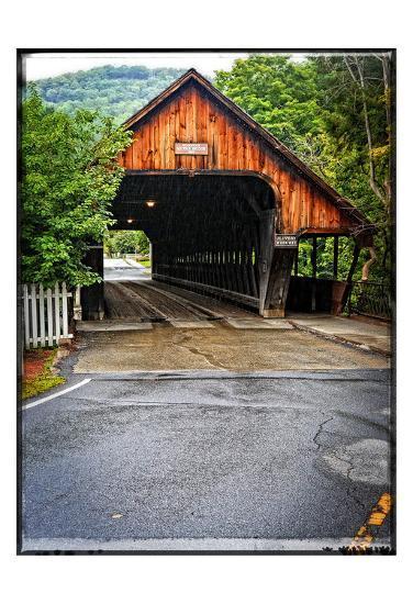 Covered Bridge-Suzanne Foschino-Art Print