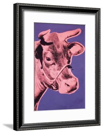 Cow, 1976-Andy Warhol-Framed Art Print