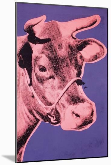 Cow, 1976-Andy Warhol-Mounted Art Print