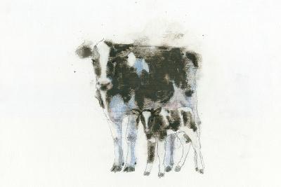 Cow and Calf Light-Emily Adams-Art Print