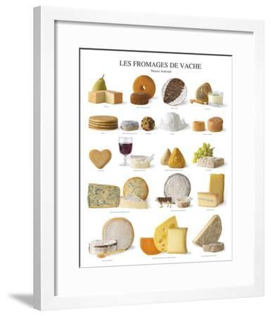Cow Cheese--Framed Art Print