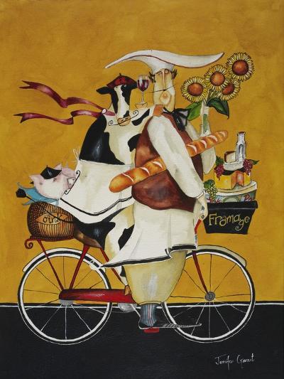 Cow Chef-Jennifer Garant-Giclee Print