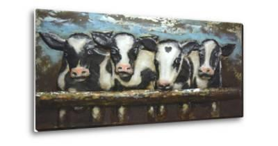 Cow Crowd - Dimensional Metal Wall Art