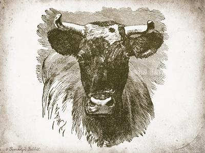 Cow Face I-Gwendolyn Babbitt-Art Print