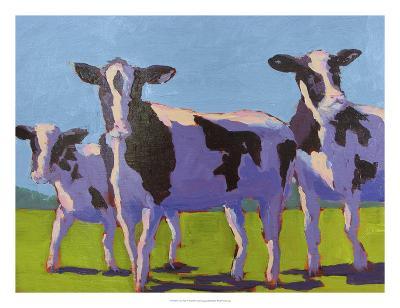 Cow Pals IV-Carol Young-Art Print