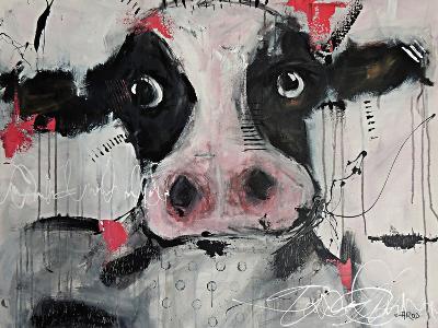 Cow Pink-Annie Rodrigue-Art Print