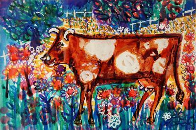 Cow-Brenda Brin Booker-Giclee Print