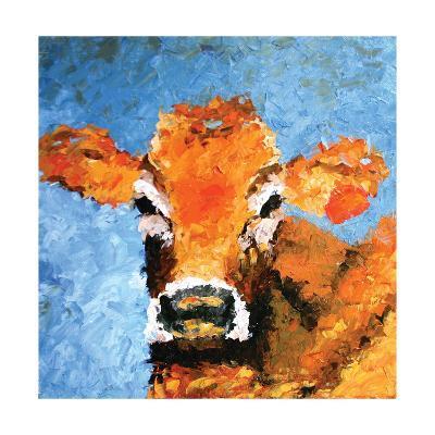 Cow-Leslie Saeta-Art Print