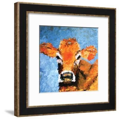 Cow--Framed Premium Giclee Print