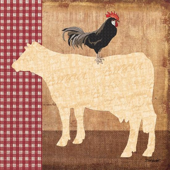 Cow-Todd Williams-Art Print