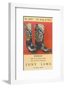 Cowboy Boots by Tony Lama